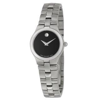 Movado Juro Women's Black Dial Watch