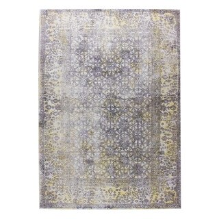 M.A.Trading Hand Woven Kashmar Grey/Gold (India) - 8'x10'