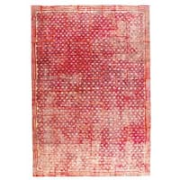 Handmade M.A.Trading Ferrara Red (8'x10') (India)