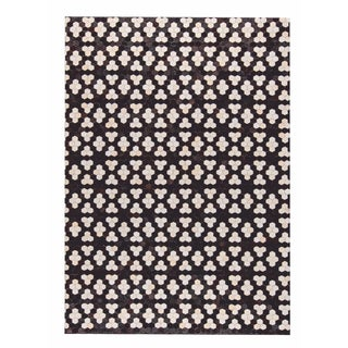 M.A.Trading Hand Made Star Black/White (9'x12') (India)