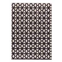 M.A.Trading Hand Made Star Black/White (India) - 9'x12'