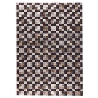 M.A.Trading Hand Made Bricka Grey/Black (2'x3')