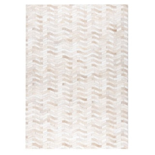 M.A.Trading Hand Made Algedi White Rug (2'x3')