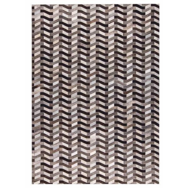 Handmade M.A.Trading Algedi Grey (2'x3') (India)