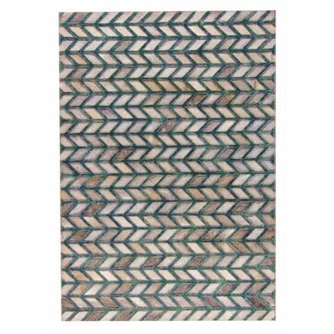 Handmade M.A.Trading Gamma Grey/Green (India)