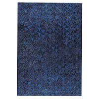 Handmade M.A.Trading Adhara Blue (2'x3') (India)
