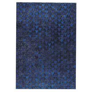 Handmade M.A.Trading Adhara Blue (India)