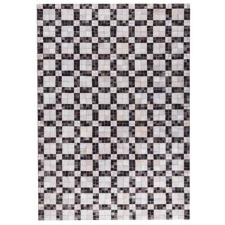 M.A.Trading Hand Made Bricka White/Grey (8'x10')