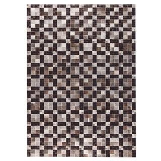 M.A.Trading Hand Made Bricka Grey/Black (8'x10')