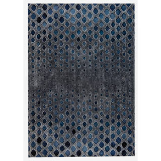 M.A.Trading Hand Made Cursa Dark Grey (9'x12') (India)