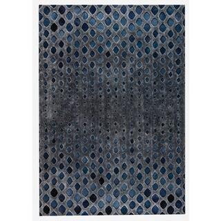 M.A.Trading Hand Made Cursa Dark Grey (8'x10')