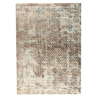 M.A.Trading Hand Woven Gela Beige/Turquoise/Grey (5'x8')