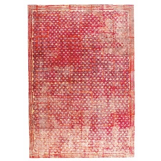 M.A.Trading Hand Woven Ferrara Red (5'x8') (India)