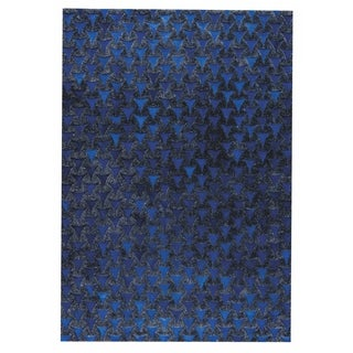 M.A.Trading Hand Made Adhara Blue (9'x12') (India)
