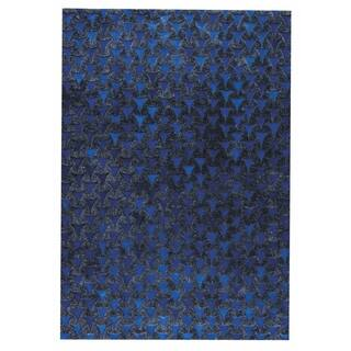 M.A.Trading Hand Made Adhara Blue (9'x12') (India)|https://ak1.ostkcdn.com/images/products/14335197/P20913591.jpg?impolicy=medium