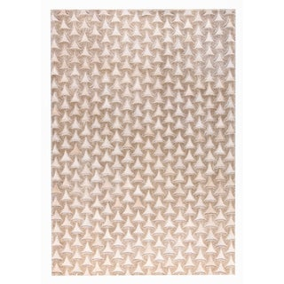 M.A.Trading Hand Made Adhara Beige (9'x12') (India)