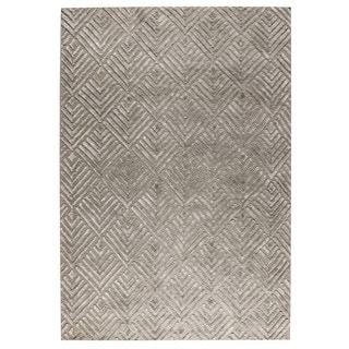 M.A.Trading Hand Woven Salem Taupe (4'x6')