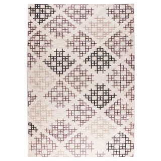 M.A.Trading Hand Woven Lowell Grey/Beige (4'x6')