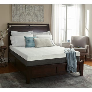 White by Sarah Peyton Orthopedic 10-inch Queen Memory Foam Mattress