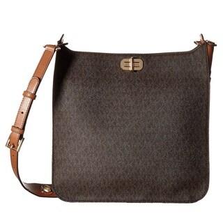 Michael Kors Sullivan Signature Large Brown N/S Messenger Bag