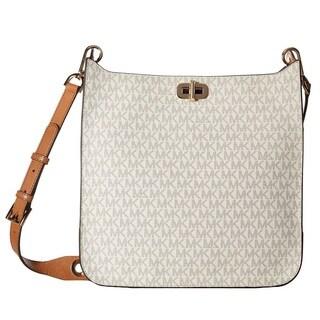 Michael Kors Sullivan Signature Large Vanilla N/S Messenger Bag