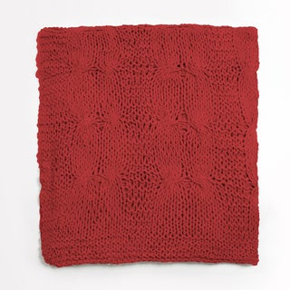 Michaela Cotton Knitted Throw
