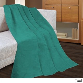 Super-Soft Micro Lush 50 X 60 Fleece Throw (Set of 2)