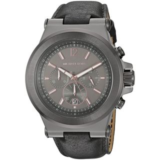 Michael Kors Men's MK8511 'Dylan' Chronograph Black Leather Watch