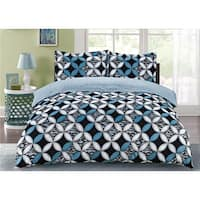 Lauren Taylor - Nettie 3pc Printed Duvet Cover Set
