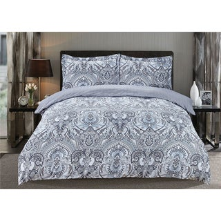 Lana 3-piece Printed Duvet Cover Set
