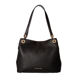 Michael Kors Raven Large Black Shoulder Tote Bag