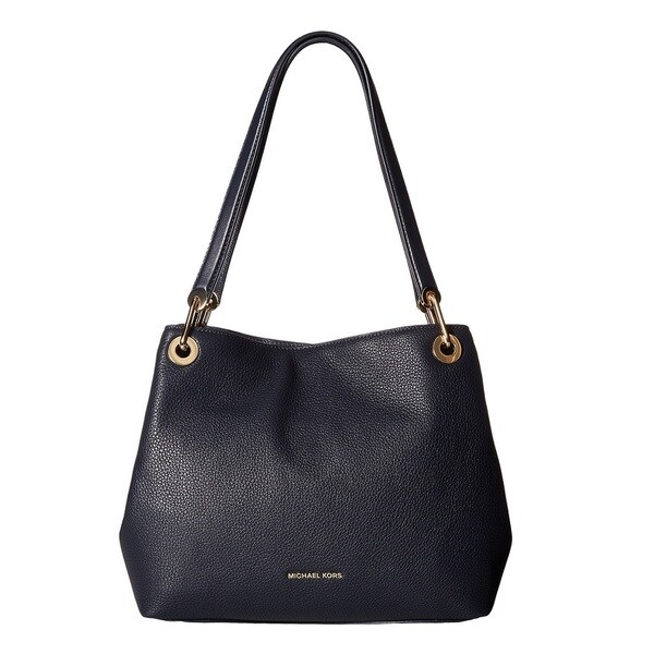 53f6d92ad7db Shop Michael Kors Raven Large Admiral Shoulder Tote Bag - Free ...