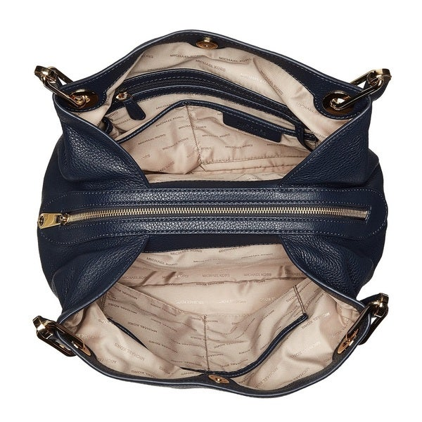 Michael Kors Shoulder Bag Raven Large Leather Admiral
