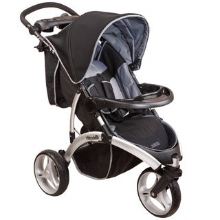Dream on Me Mia Moda Energi Grey Full-size Jogging Stroller