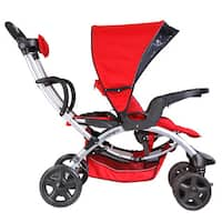 Mia Moda Red Plastic Compagno Stroller