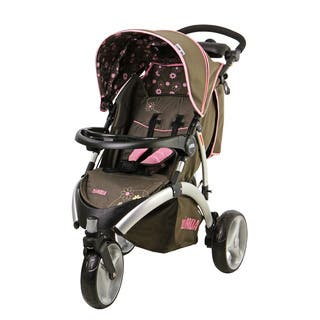 Mia Moda Brown Energi Full-size Jogging Stroller|https://ak1.ostkcdn.com/images/products/14335570/P20913919.jpg?impolicy=medium
