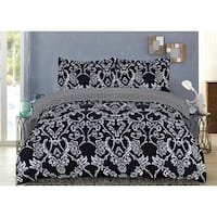 Lauren Taylor - Norah 3pc Printed Duvet Cover Set