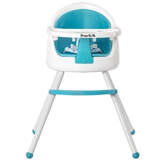 Dream On Me Light Blue Plastic 3 in 1 Pod Highchair