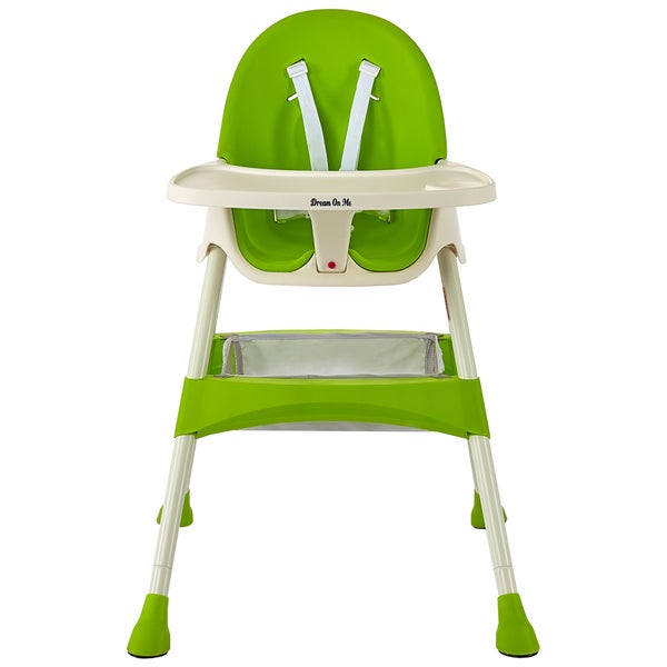 Dream on Me Jackson Lime Green Plastic High Chair  sc 1 st  Overstock.com : lime green plastic chairs - Cheerinfomania.Com