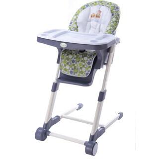 Dream On Me Ellispe Green Plastic Highchair