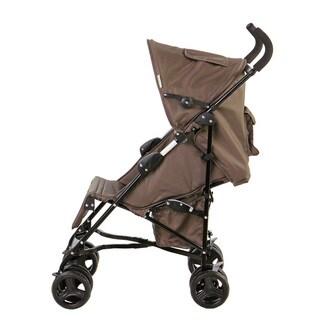 Dream on Me Mia Moda Brown and Green Plastic Facile Umbrella Stroller