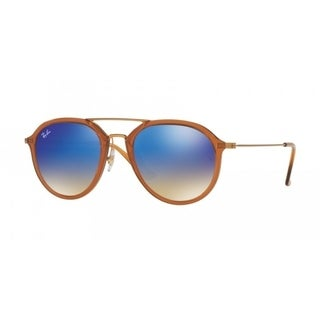 Ray-Ban Unisex RB4253 62388B Brown Frame Blue Gradient 53mm Lens Sunglasses