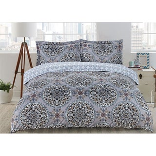 Aretha 3-piece Printed Duvet Cover Set