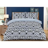 Lauren Taylor - Joni 3pc Printed Duvet Cover Set