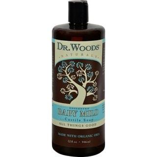 Dr. Woods Naturals Castile Baby 32-ounce Liquid Soap