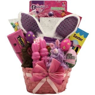 Easter gift baskets for less overstock easter glamour girl easter gift basket negle Gallery