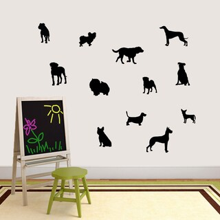 Small Dog Silhouette Set