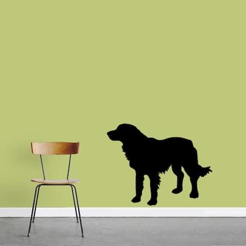 Golden Retriever 36x28-inch Dog Silhouette Wall Decal