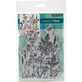 Penny Black Cling Stamp 5X7-Butterfly Dance