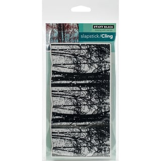 Penny Black Cling Stamp 5X7-Snowy Grove